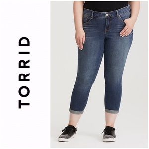 Torrid Cropped Jeans